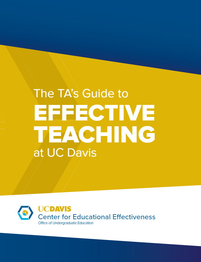 The TA's Guide to Effective Teaching